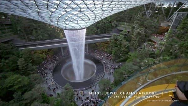 Inside: Jewel Changi Airport