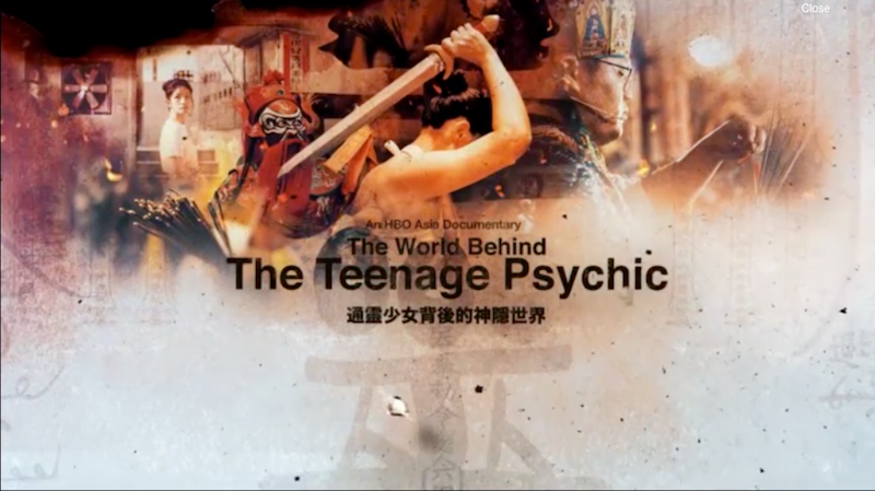 The World Behind The Teenage Psychic