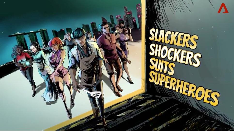 Slackers, Shockers, Suits And Superheroes