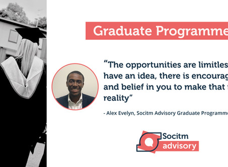 Life on the Socitm Advisory Graduate Programme