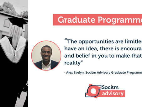 Life on the Socitm Advisory Graduate Programme