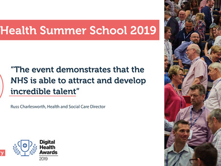 Digital Health Summer Schools 2019