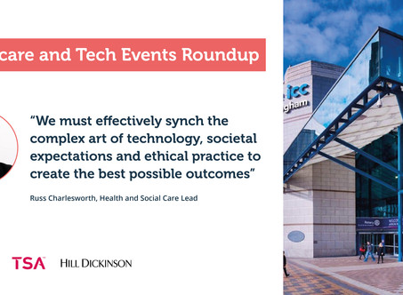 Healthcare and Technology Events Roundup