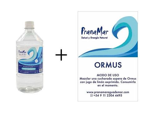 Pack x 6 botellas de 1 litro + Ormus 500ml