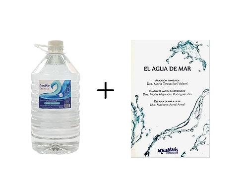 "Bidón de 5lts + Libro ""El Agua de Mar"""