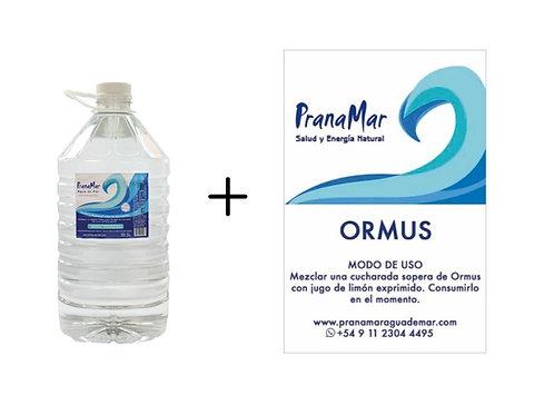 Bidón de 5lts + Ormus 500ml