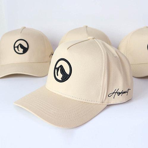 Buttercream A-Frame Logo Snapback Hat