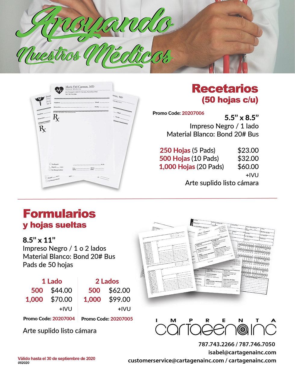 Formularios y recetarios medicos_Artboar