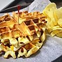 Waffle Egg & Cheese Sandwich