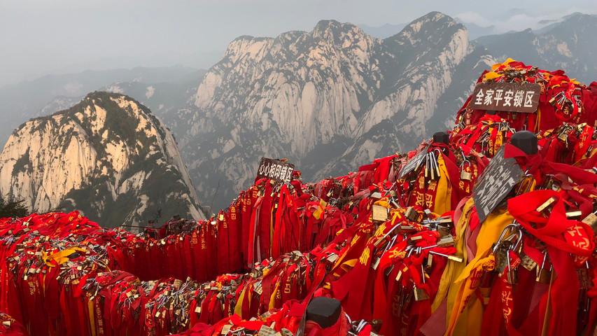 Mount Huasan, China
