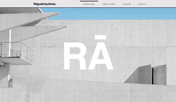 Design website templates – Empresa de Arquitetura