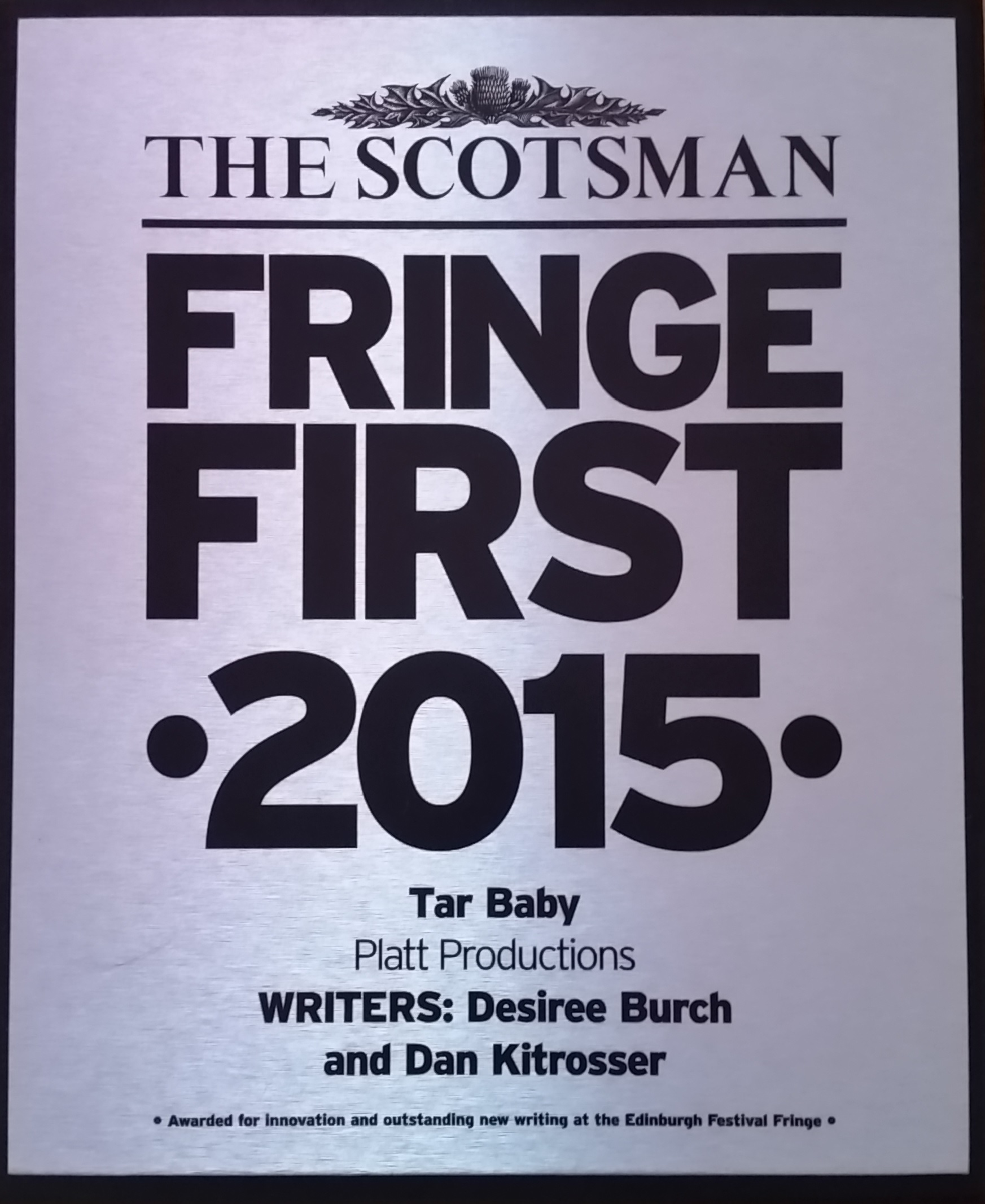 Fringe First award.jpg