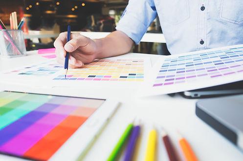 graphic-designer-at-work-color-swatch-samples-GFJH7TU.jpg