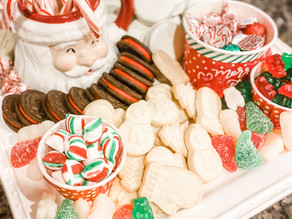Spruce Up Santa's Cookie Plate