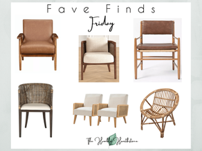 Fave Friday Finds - Accent Chairs