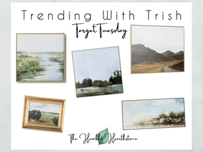 Trending With Trish - Target Tuesdays Canvas Print Finds