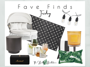 Fave Friday Finds - Patio Refresh