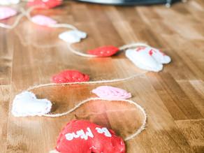 DIY Valentine's Day Garland