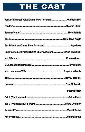 Pandora Cast List