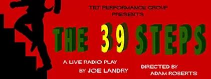 The 39 Steps Show Poster - TILT Performa