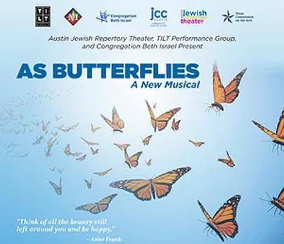As Butterflies Show Poster - TILT Perfor