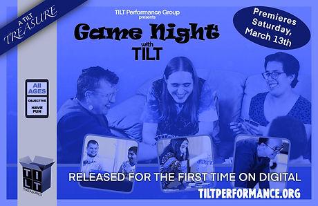 Game Night Poster - A TILT Treasure