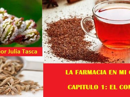 LA FARMACIA EN MI COCINA. CAPÍTULO 1: EL COMINO!