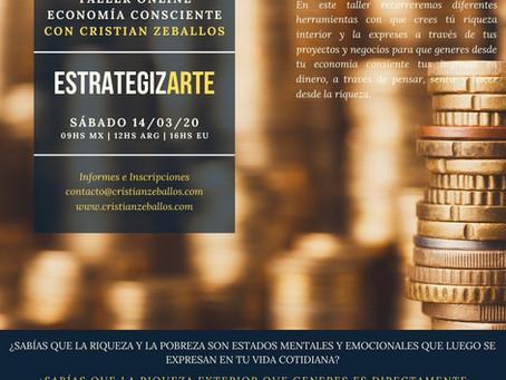 EstrategizArte | Crea Tu Riqueza | Taller On Line