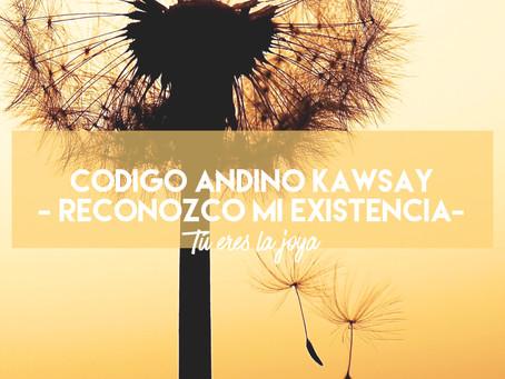 Código andino KAWSAY - reconozco mi existencia
