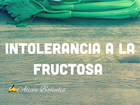 La intolerancia a la fructosa es cada vez más común