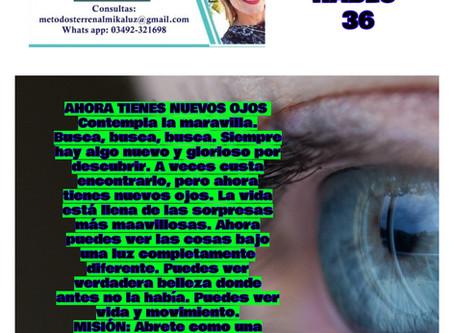 Carta de Dios me Habló- 36- Ahora tienes nuevos ojos