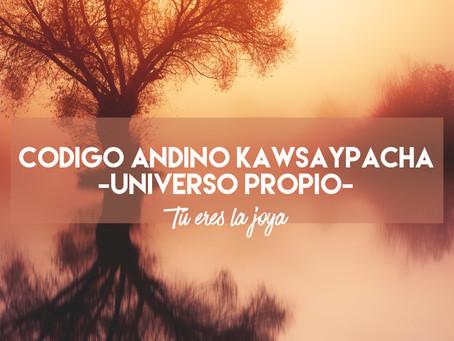 Código andino KAWSAYPACHA - Universo Propio