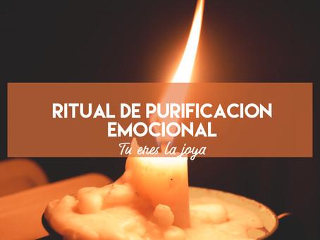 Ritual de purificación emocional