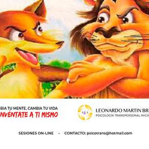 La Fábula del Asno, La Zorra y El León