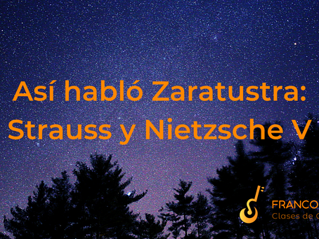 Así habló Zaratustra: Strauss y Nietzsche V