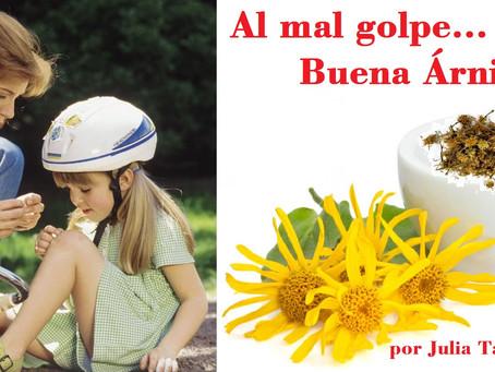 AL MAL GOLPE… BUENA ÁRNICA!