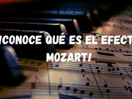 ¡Conoce qué es el Efecto Mozart!