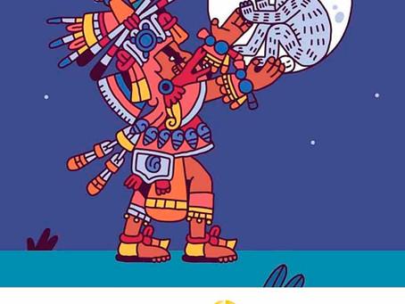 La Leyenda Maya del Conejo de la Luna