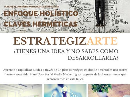 EstrategizArte | Taller On Line | Economía Consciente