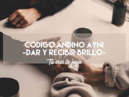 Código andino AYNI - Dar y Recibir Brillo