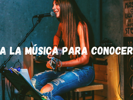 ¡Usa la Música para conocerte!