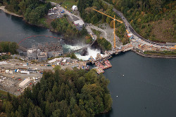 Water Hydro Station Canada