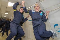 Zero-G UAE Programme. Credit Melissa Turner, Zero-G