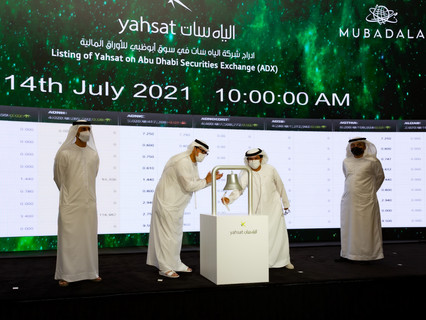 Mubadala-owned Yahsat successfully commences trading on ADX