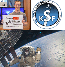 KSF Space to support live communication with ISS crew for academic sectors
