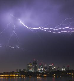 Lightning-Canary-Wharf-London-May2018