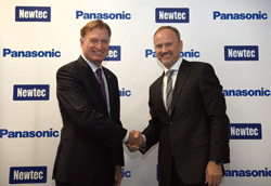Panasonic selects Newtec as technology partner for advanced satellite network