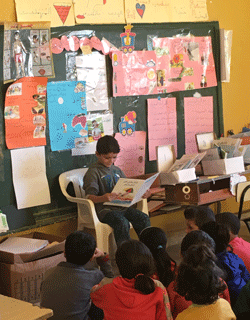 Thuraya donates books and helps displaced Syrian children in Lebanon get back to school
