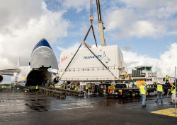 Yahsat announces launch date of Al Yah 3 after satellite arrives in Kourou 1