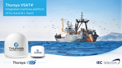 Thuraya and IEC Telecom making waves at SMM Hamburg